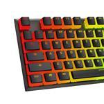 HyperX Double Shot PBT 104-Key Translucent Pudding Keycap Set - Black