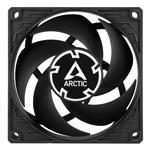 ARCTIC P8 PWM PST 80mm Black Fan - Single-Pack