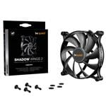 be quiet! Shadow Wings 2 140mm Case Fan - Black