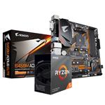 Bundle Deal: AMD Ryzen 5 3600 CPU + Gigabyte B450M AORUS ELITE AM4 Motherboard