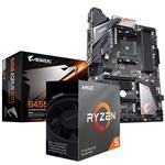Bundle Deal: AMD Ryzen 5 3600X CPU + Gigabyte B450 AORUS Elite ATX Motherboard