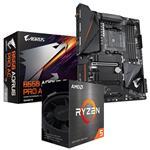 Bundle Deal: AMD Ryzen 5 5600X + Gigabyte B550 AORUS PRO AC ATX Motherboard