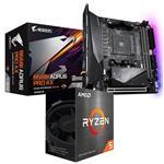 Bundle Deal: AMD Ryzen 5 5600X + Gigabyte B550I AORUS PRO AX ITX Motherboard