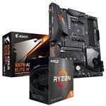 Bundle Deal: AMD Ryzen 5 5600X + Gigabyte X570 AORUS ELITE WIFI ATX Motherboard