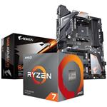 Bundle Deal: AMD Ryzen 7 3700X CPU + Gigabyte B450 AORUS Elite ATX Motherboard
