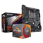 Bundle Deal: AMD Ryzen 7 3700X + Gigabyte B550 AORUS PRO AC AM4 ATX Motherboard