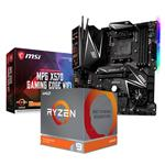 Bundle Deal: AMD Ryzen 9 3900X + MSI MPG X570 GAMING EDGE WIFI ATX Motherboard