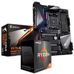 Bundle Deal: AMD Ryzen 9 5900X + Gigabyte X570 AORUS MASTER ATX Motherboard