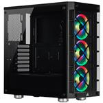 Corsair iCUE 465X RGB Smart Tempered Glass Mid-Tower ATX Case - Black