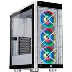 Corsair iCUE 465X RGB Tempered Glass ATX Mid-Tower Case - White