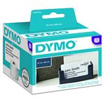 Dymo LabelWriter Appointment Card Non-Adhesive Label 51mm x 89mm - 300 Labels
