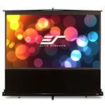 """Elite Screens ezCinema 150"""" 16:9 Floor Pull-up Projection Screen"""