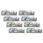 G.Skill Trident Z Royal Elite RGB 128GB (8x 16GB) DDR4 3600MHz Memory - Silver