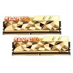 G.Skill Trident Z Royal Elite RGB 16GB (2x 8GB) DDR4 3600MHz Memory - Gold