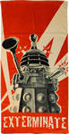 Doctor Who - Dalek Exterminate Beach Towel