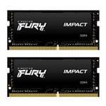 Kingston FURY Impact 32GB (2x 16GB) DDR4 2666MHz Memory