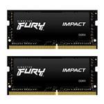 Kingston FURY Impact 64GB (2x 32GB) DDR4 3200MHz Memory