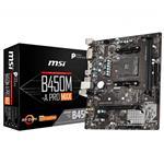 MSI B450M-A PRO MAX AM4 Micro-ATX Motherboard