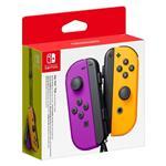 Nintendo Switch Joy-Con - Neon Purple and Neon Orange Pair