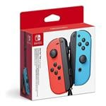 Nintendo Switch Joy-Con - Neon Red and Neon Blue Pair