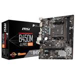 Refurbished - MSI B450M-A PRO MAX AM4 Micro-ATX Motherboard