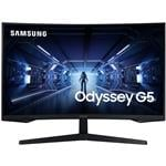 "Samsung Odyssey G5 32"" 144Hz WQHD 1ms Curved FreeSync Gaming Monitor"