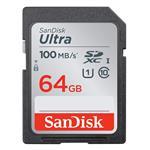 SanDisk Ultra 64GB SDXC Class 10 U1 Memory Card - 100MB/s