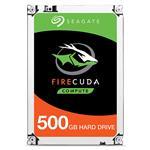 """Seagate ST500LX025 500GB w/8GB NAND FireCuda 2.5"""" SATA3 5400RPM Laptop SSHD"""