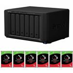 Synology DS3018xs 6 Bay NAS + 6x Seagate ST1000VN002 1TB IronWolf NAS HDD