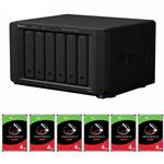 Synology DS3018xs 6 Bay NAS + 6x Seagate ST4000VN008 4TB IronWolf NAS HDD