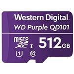 WD Purple SC QD101 512GB microSDXC U1 Memory Card