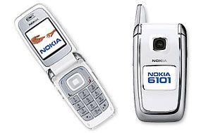 Nokia 6101 GSM White Mobile Phone   Mwave.com.au