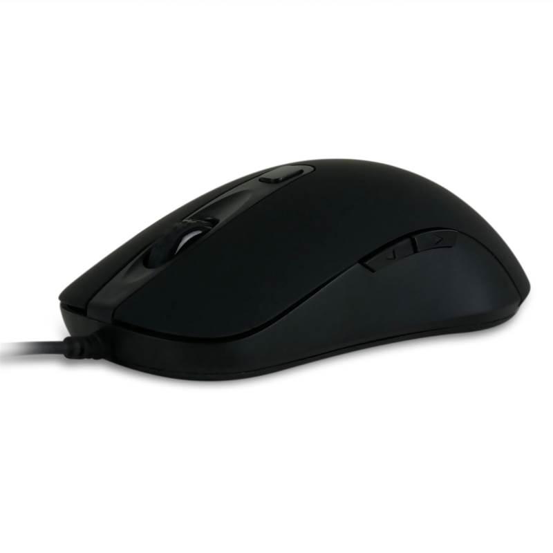 Nixeus REVEL Gaming Mouse PixArt PMW3360 Optical Gaming Sensor Rubberized Black